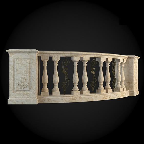 013_Baluster - 3DOcean Item for Sale