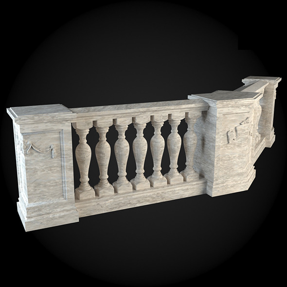 015_Baluster - 3DOcean Item for Sale