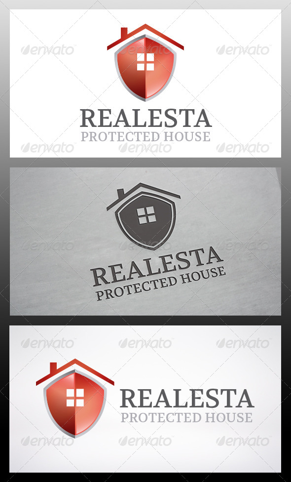 Shield House Logo Template - Crests Logo Templates