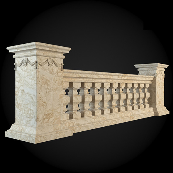 016_Baluster - 3DOcean Item for Sale