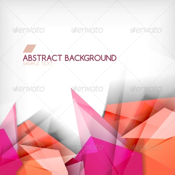 Abstract Geometric Shape Background - Backgrounds Business