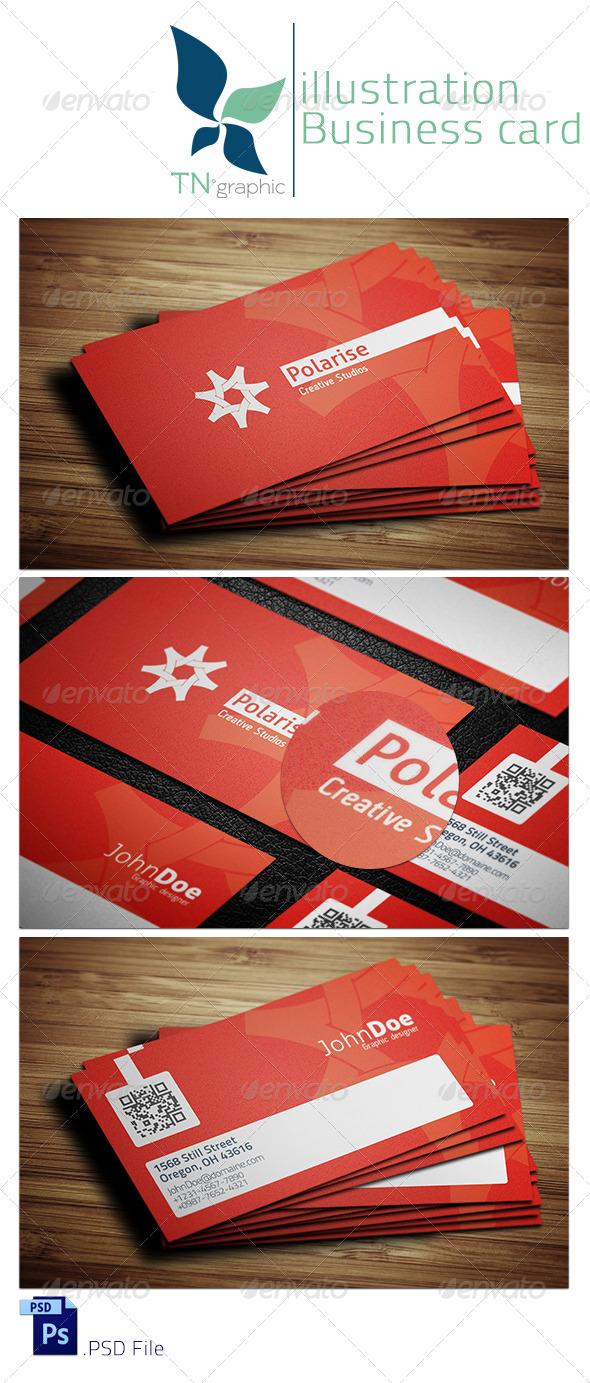 Polarise Business Card - Creative Business Cards