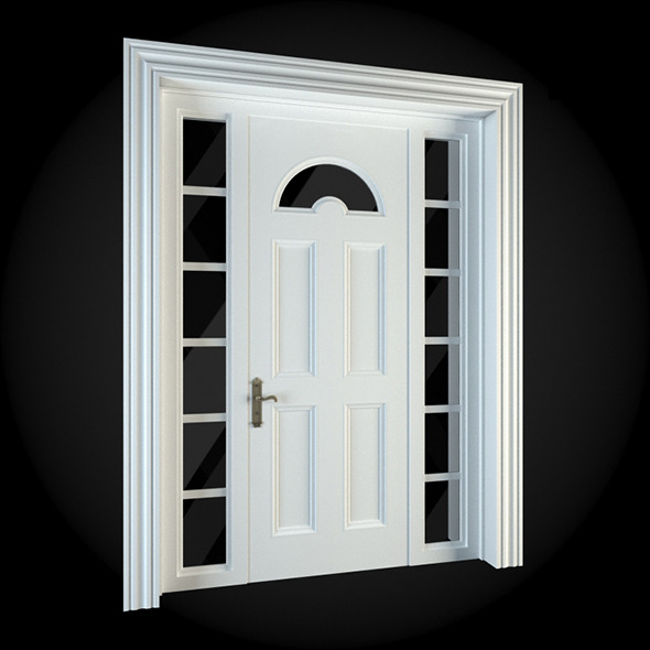 Door 010 - 3DOcean Item for Sale