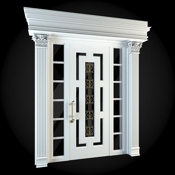 Door 019 - 3DOcean Item for Sale