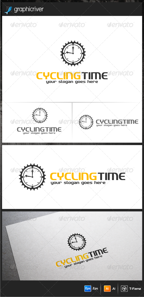 Cycling Time Logo Templates - Objects Logo Templates