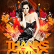 Thanksgiving Bash Club Flyer - GraphicRiver Item for Sale