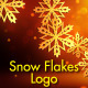 Snowflakes Logo - VideoHive Item for Sale