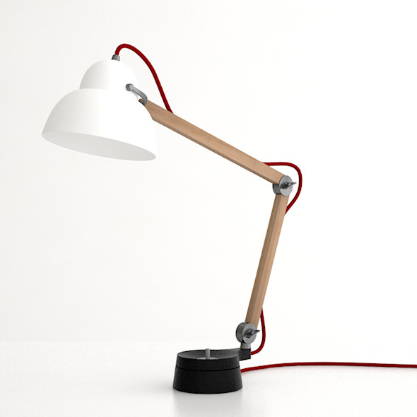 Studioilse Desk Lamp - 3DOcean Item for Sale