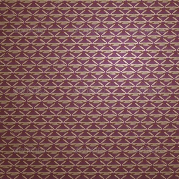 Seamless Vintage Pattern. - Backgrounds Decorative