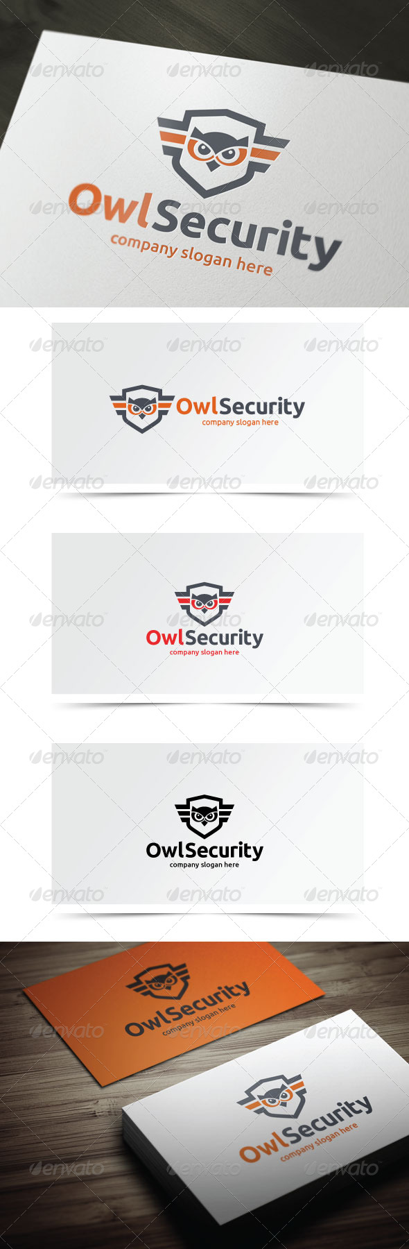 Owl Security - Animals Logo Templates