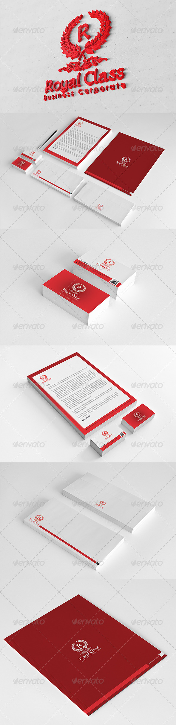 Royal Class Corporate Identity Package  - Stationery Print Templates