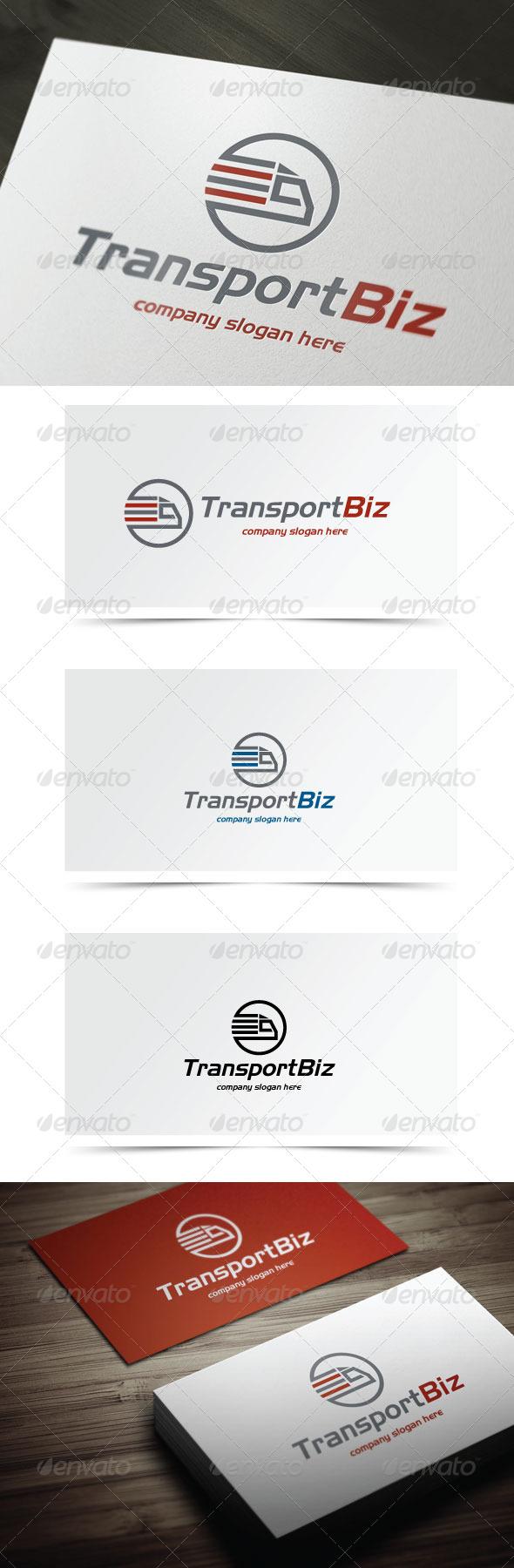 Transport Biz - Objects Logo Templates