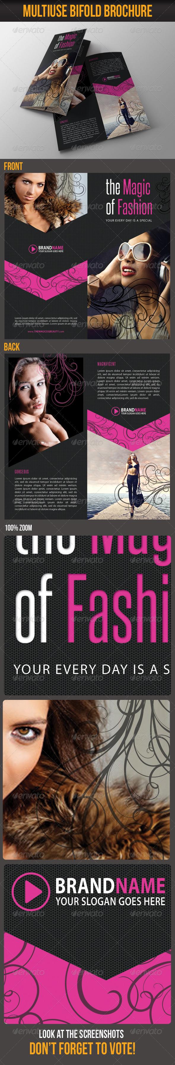 Multiuse Bifold Brochure 27 - Catalogs Brochures