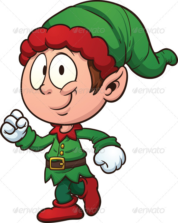 christmas elf by memoangeles graphicriver rh graphicriver net