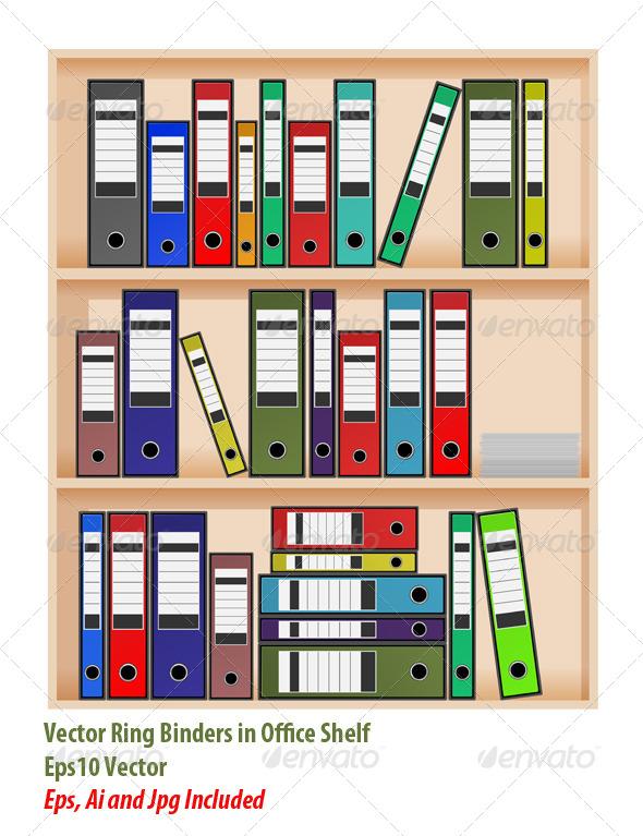 Office Shelf - Business Conceptual