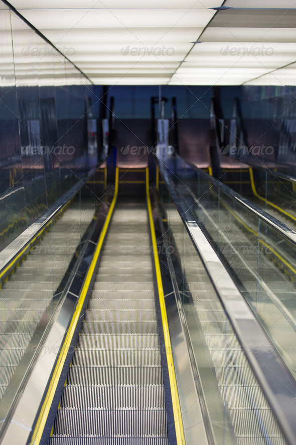 Automatic Stairway - Stock Photo - Images