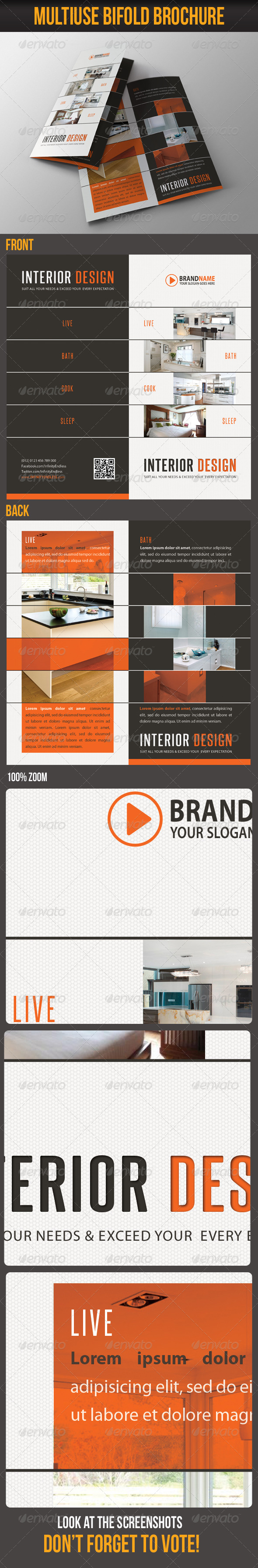 Multiuse Bifold Brochure 29 - Catalogs Brochures