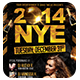 NYE Party | Flyer + FB Cover - GraphicRiver Item for Sale