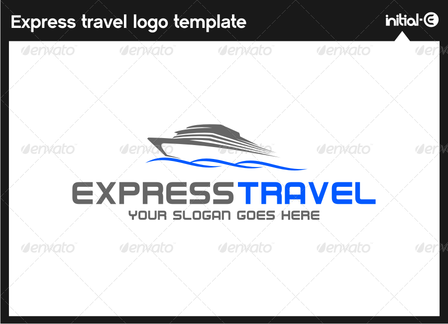 Express Trevel Logo Template