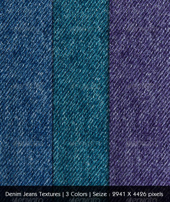 Denim Jeans Textures - Fabric Textures