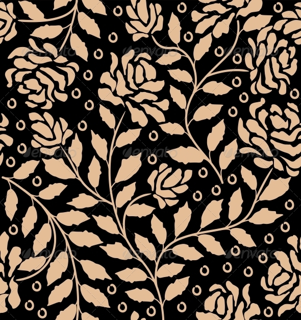 Abstract Floral Seamless Pattern - Patterns Decorative