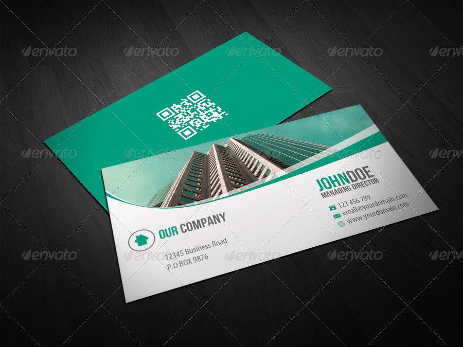 Corporate Trading Business Card Design by themeboo | GraphicRiver