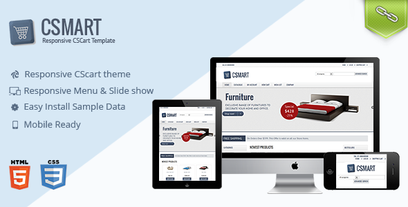 Csmart – Responsive Cs-Cart Theme