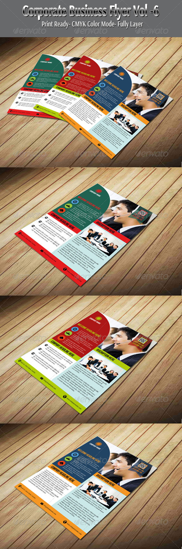 Corporate Business Flyer Vol-6 - Corporate Flyers
