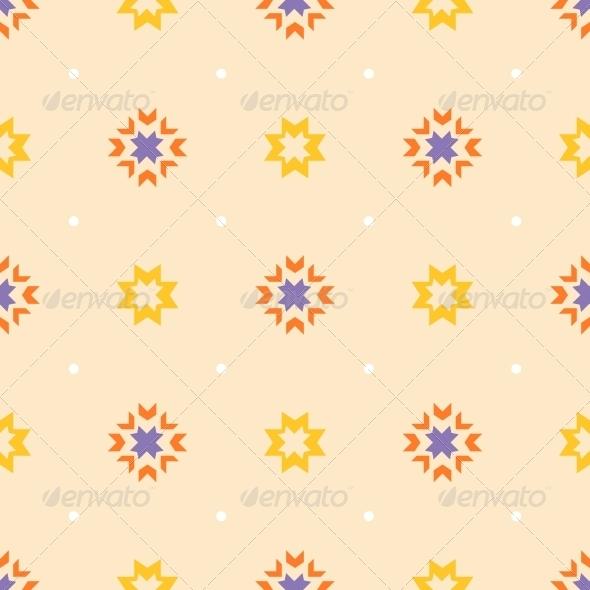 Abstract Geometric Seamless Ornament Pattern. - Patterns Decorative