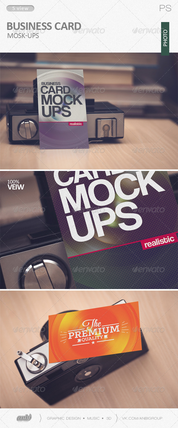 Business card Mock-Ups (photo) - Business Cards Print
