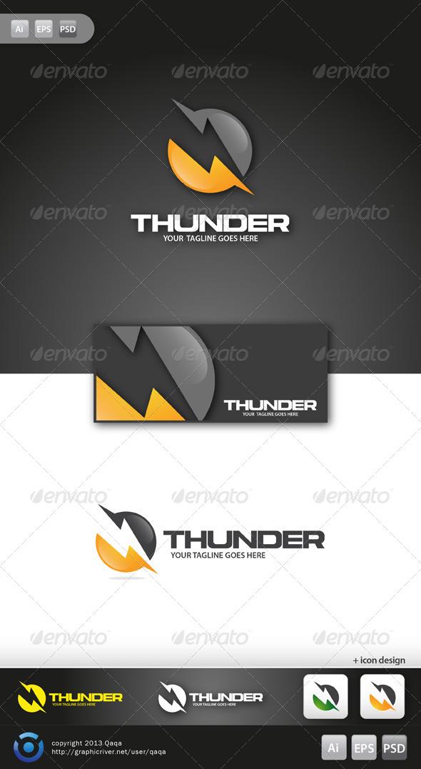 Thunder Logo - Logo Templates