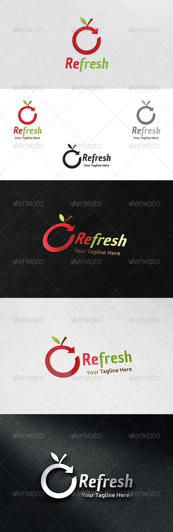 Refresh - Logo Template - Nature Logo Templates