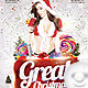 Flyer Party Christmas - GraphicRiver Item for Sale