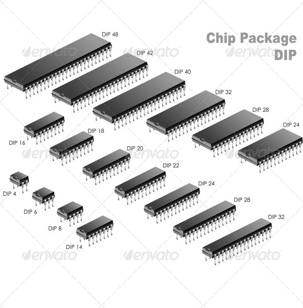 Chip Package (DIP) - Computers Technology
