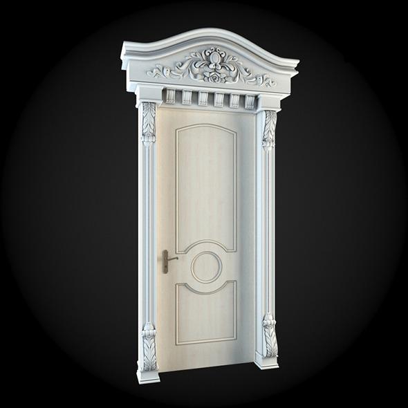 Door 026 - 3DOcean Item for Sale