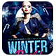 Winter Bash 2 | Flyer + FB Cover - GraphicRiver Item for Sale