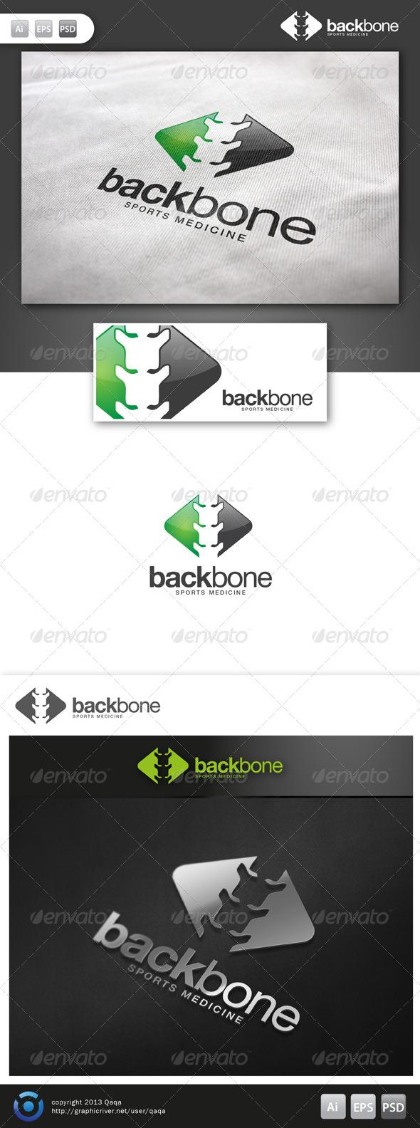 Back Bone Logo - Logo Templates