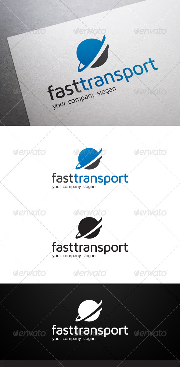 Fast Transport Logo - Abstract Logo Templates