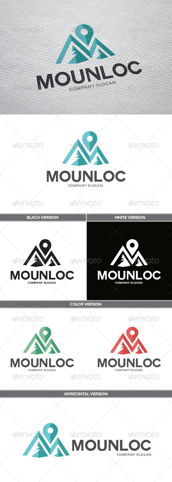 MounLoc Logo - Objects Logo Templates