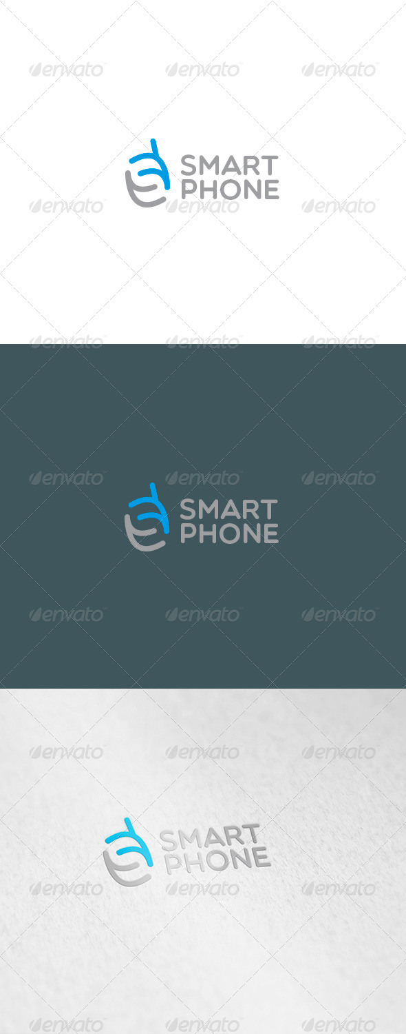 Smart Phone Logo - Letters Logo Templates