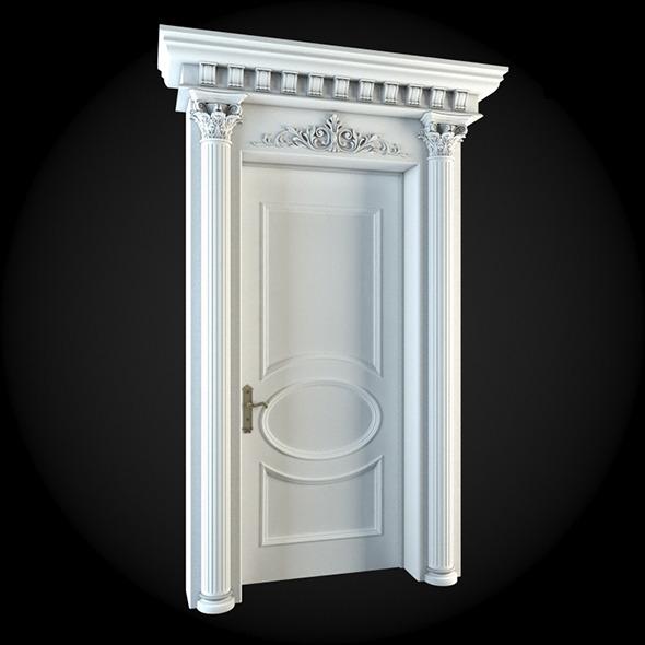 Door 035 - 3DOcean Item for Sale