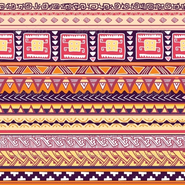 Tribal Pattern - Backgrounds Decorative