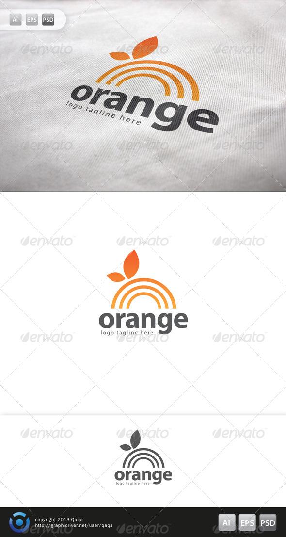 Orange Logo - Logo Templates