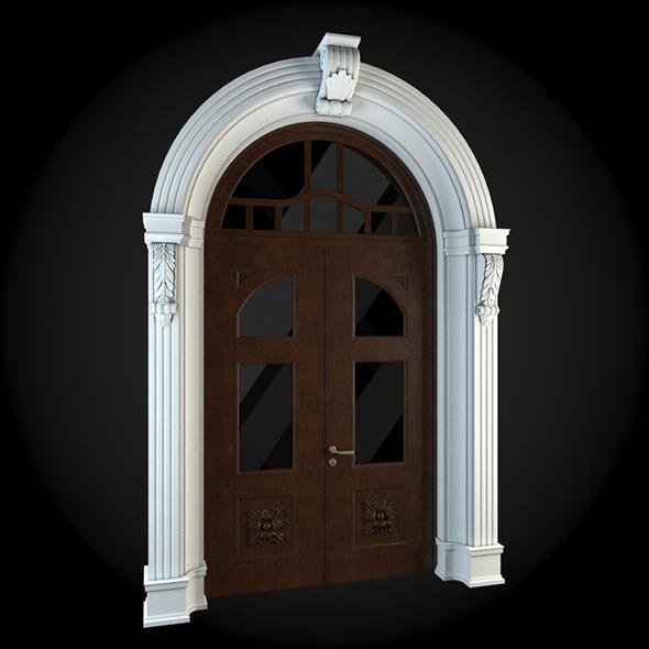 Door 043 - 3DOcean Item for Sale