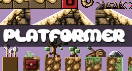 Platformer Game Art