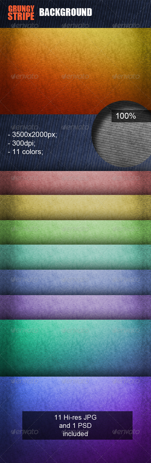 Grungy Stripe Background - Patterns Backgrounds