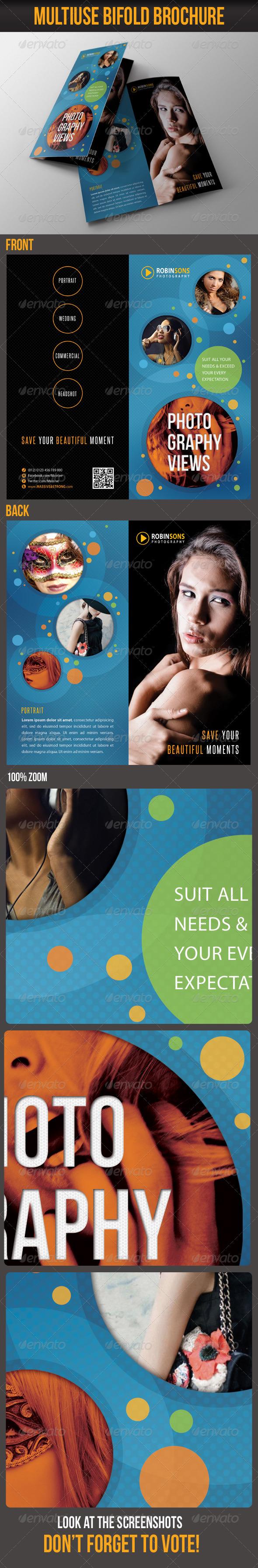 Multiuse Bifold Brochure 34 - Catalogs Brochures