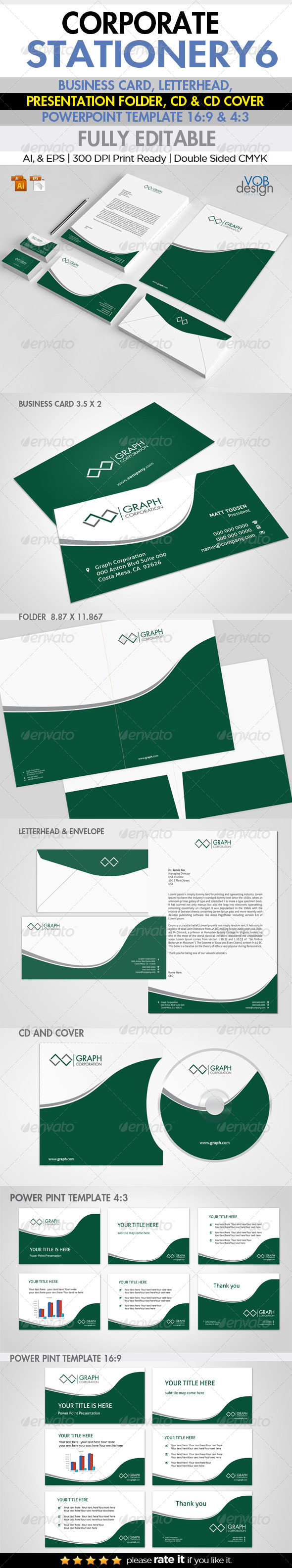 Corporate Stationery 6 - Stationery Print Templates