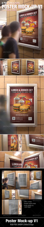 Poster Mock-Ups v1 - Posters Print