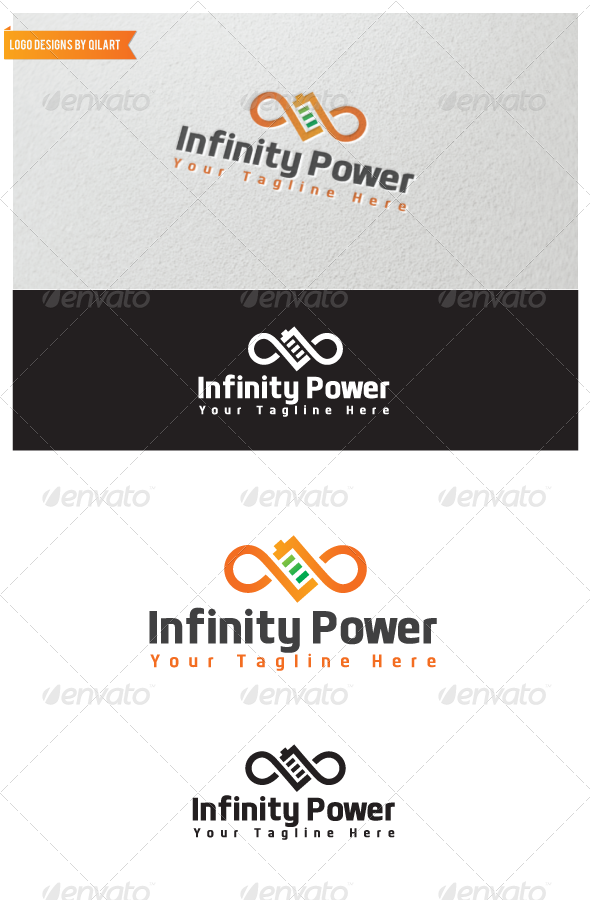 Infinity Power - Abstract Logo Templates